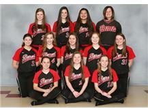 2016 -2017 Girls Junior Varsity Softball Team