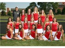 2017-2018 Girls JV1 Tennis Team