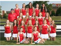 2017-2018 Girls JV2 Tennis Team
