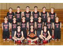 2017-2018 Sophomore Basketball Team