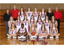 2017-2018 Varsity Lady Redwings Basketball Team