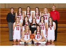 2017-2018 Sophomore Lady Redwings Basketball Team