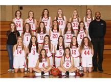 2017-2018 Freshmen Lady Redwings Basketball Team