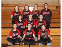 2018 Junior Varsity Softball Team