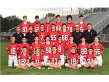 2018-2019 Benet Sophomore Football Players
