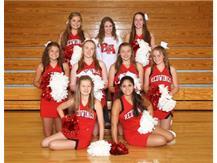 2019-2020 JV Cheerleaders