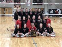 2019 Girls Volleyball 4A Regional Champions!