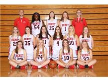 2019 - 2020 Girls Sophomore Basketball Team