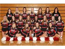 2019 - 2020 Varsity Competitive Cheer Team