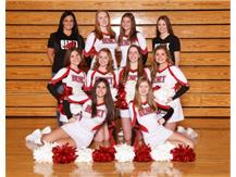 2019 - 2020 JV Competitive Cheer Team