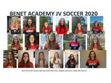 2020 Girls Junior Varsity Soccer Team