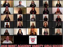 2020 Girls Varsity Soccer Team