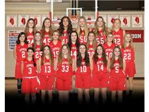 2021 Freshmen Girls Basketball Team
