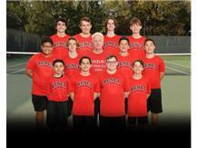 2021 Junior Varsity Tennis Team