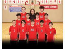 2021 Freshmen Volleyball Team