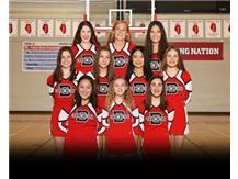 2020-2021 Junior Varsity Cheer Team