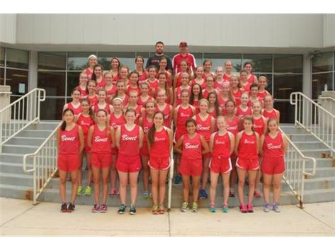 2014-2015 Varsity Cross Country Team