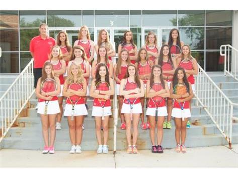 2014-2015 Varsity Tennis Team