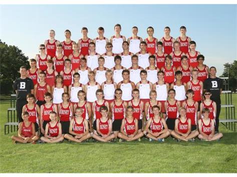 2015-2016 Boys Cross Country Team