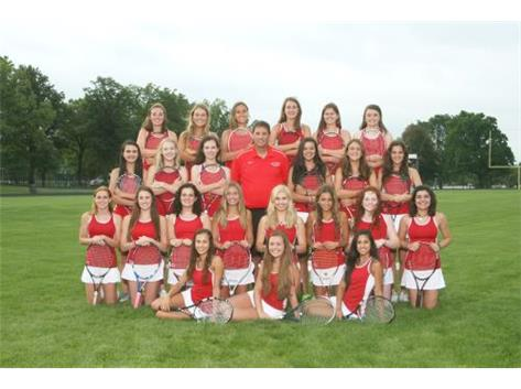 2015 Girls Varsity Tennis Team