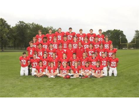 2015 Sophomore Football Team