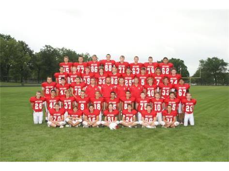 2015 Freshmen Football Team