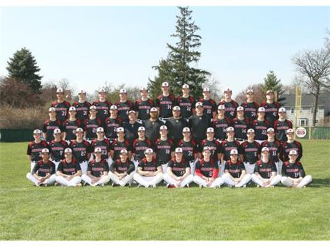 2015 - 2016 Varsity Baseball Team