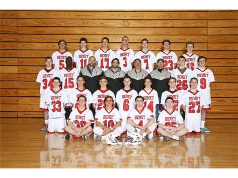 2015 - 2016 Boys Varsity Lacrosse Team