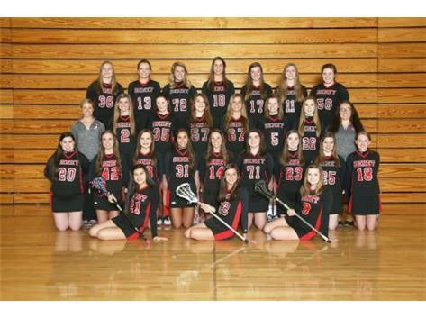2015 - 2016 Girls Junior Varsity Lacrosse Team