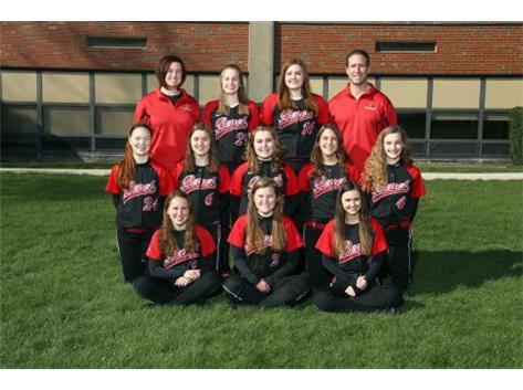 2015 - 2016 Girls Junior Varsity Softball Team