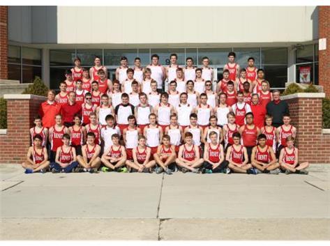 2015 - 2016 Boys Track Team
