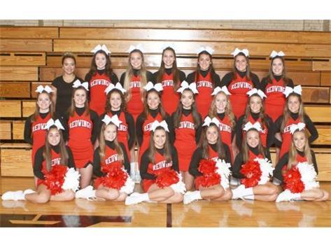 2016 - 2017 Varsity Cheerleaders