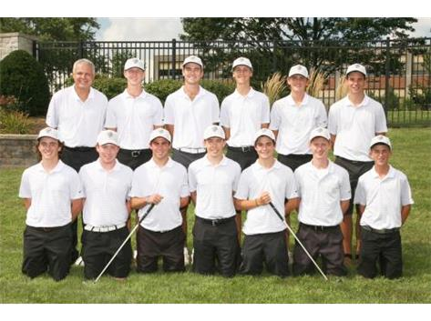 2016 Boys Varsity Golf Team
