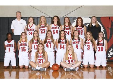 2016-2017 Girls Varsity Lady Redwings