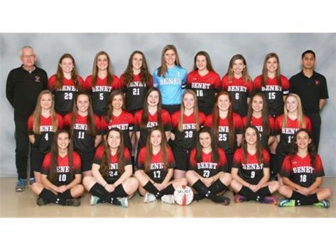 2016 -2017 Girls Varsity Soccer Team