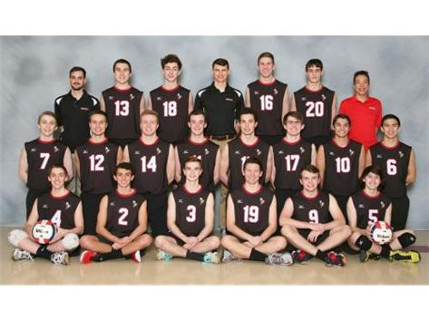 2016 -2017 Boys Varsity Volleyball Team