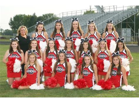 2017-2018 Varsity Cheerleaders