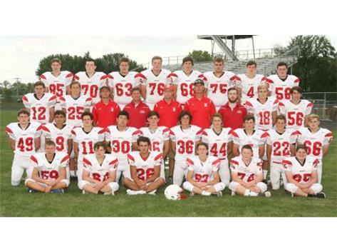 2017-2018 Sophomore Football Team
