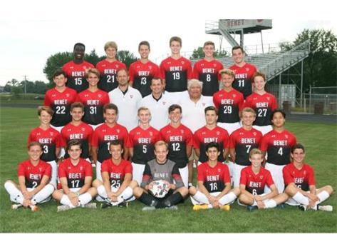 2017-2018 Boys Varsity Soccer Team