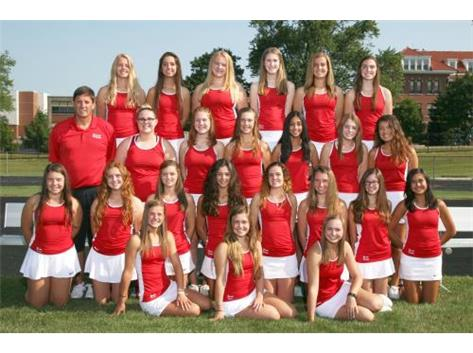 2017-2018 Girls Varsity Tennis Team