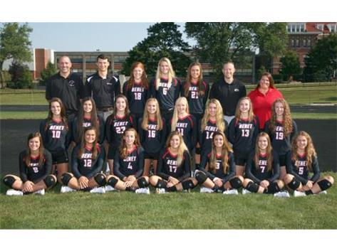 2017-2018 Girls Varsity Volleyball Team