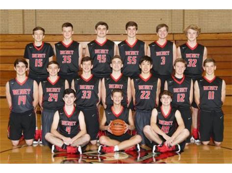 2017-2018 Sophomore Basketball Team