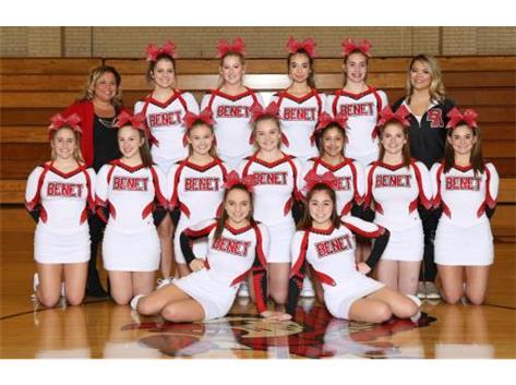 2017-2018 Varsity Competitive Cheerleading Team