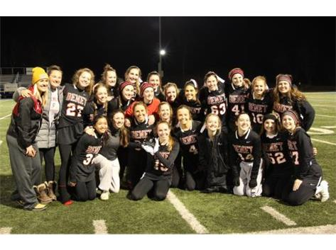 Girls Varsity Lacrosse Team - St. Francis Tournament Champions