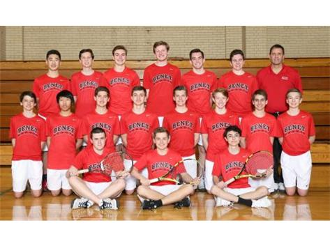 2018 Boys Varsity Tennis Team
