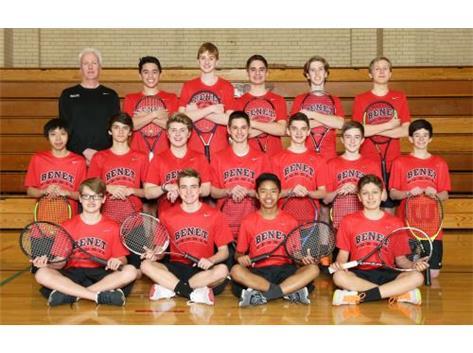 2018 Boys Junior Varsity Tennis Team