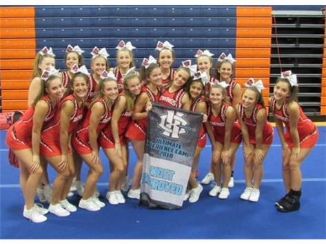 Congratulations Benet Cheerleaders!