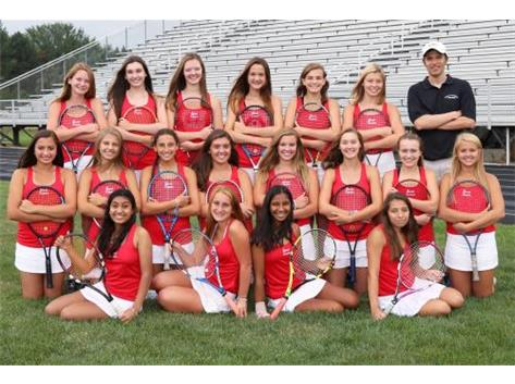 2018-2019 Benet Frosh/Soph Girls Tennis Team