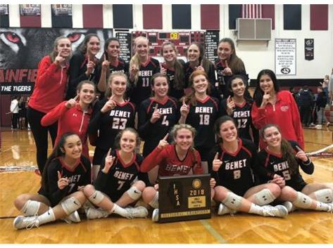 2018 Class 4A Sectional Champions