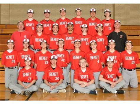 2019 Sophomore Baseball Team